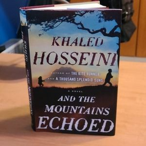 And the Mountains Echoed Hardcover Book Khaled